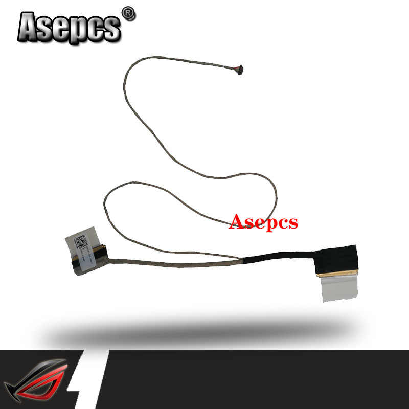 Yeni Laptop LCD asus için kablo F453 X453 X403M X453M X453MA PN: DD0XK1LC000 yedek onarım LED LVDS kablo