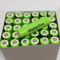 MasterFire 100 шт./лот оригинальный 18650 NCR18650B 3,7 В 3400 мАч Перезаряжаемые литий-ионный аккумулятор для Panasonic