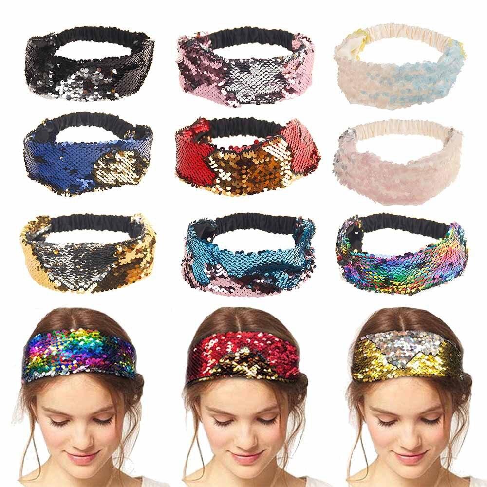 1PC Femmes Yoga Hairband Bow Noeud Serre-tête Bandeau Cheveux Cerceau Accessoires