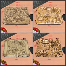 Wizarding World Of Harry Potter Map Top Quality Customized Gaming Durable Mouse Mat PC Computer Mouse Pad Laptop Mat to Mouse