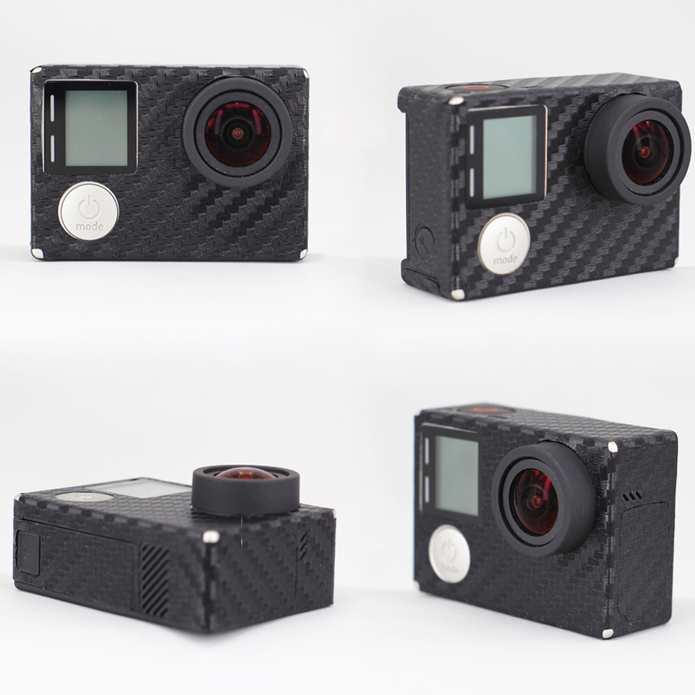 ZJM Venta Caliente de Fibra de Carbono Para Gopro Hero 4 Accesorios - Cámara y foto - foto 1