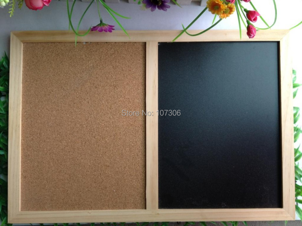 Free Accessories Nature Combination Cork Board Blackboard Kitchen Office Supplier 60 90cm Factory Direct Home Decorative In Drawing From