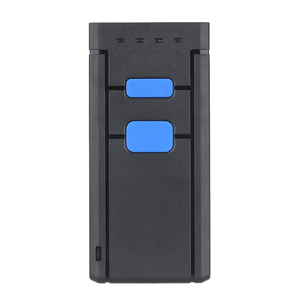 Mini Wireless Bluetooth Barcode Scanners Barcode Scanners CCD Barcode Reader Portable Wireless One Size Red Light