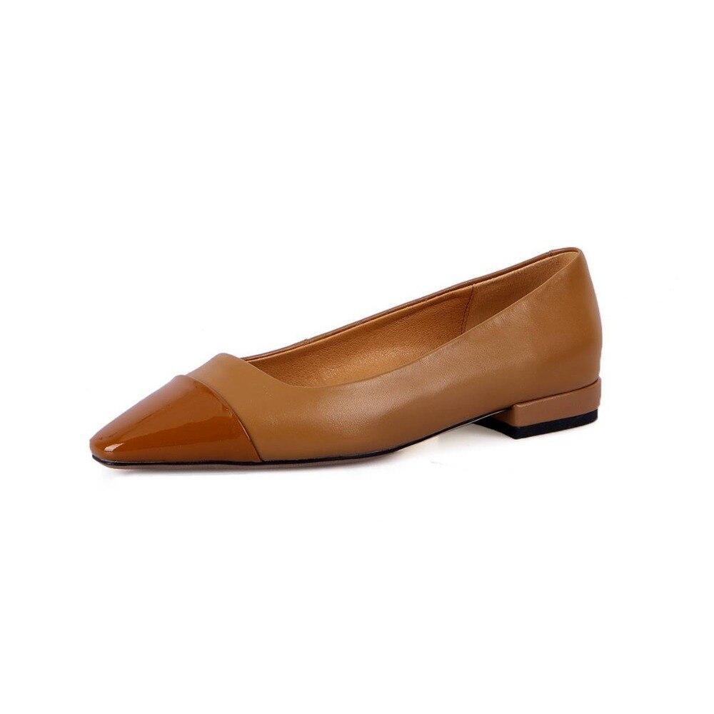 Zapatos Hecha Pie Conducción Mocasines Natural A Del De Gran Mano Las Lenkisen Tamaño Cuero Mujeres Cuadrada Negro Planos L50 chocolate Dama Cuadrado Vintage Dedo Punta wP7vwqxR14