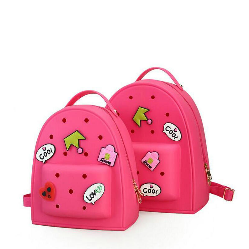 Hot Women And Girls Backpacks for Teenage Girls Candy Color Causal Sweet Cartoon EVA Satchel Children School Bags Travel Colors children school bag minecraft cartoon backpack pupils printing school bags hot game backpacks for boys and girls mochila escolar