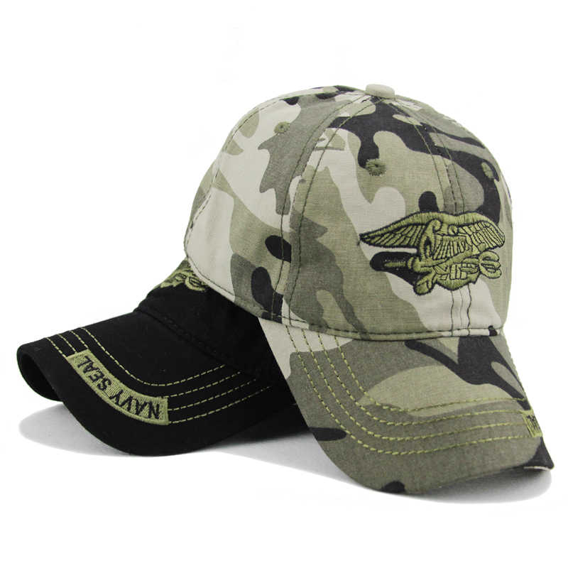 b1cc4b4070861 Detail Feedback Questions about New Brand Navy Seal Army Camo Cap ...