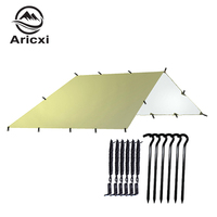 Ultralight Tarp Outdoor Camping Survival Sun Shelter Shade Awning Silver Coating Pergola Waterproof Beach Tent