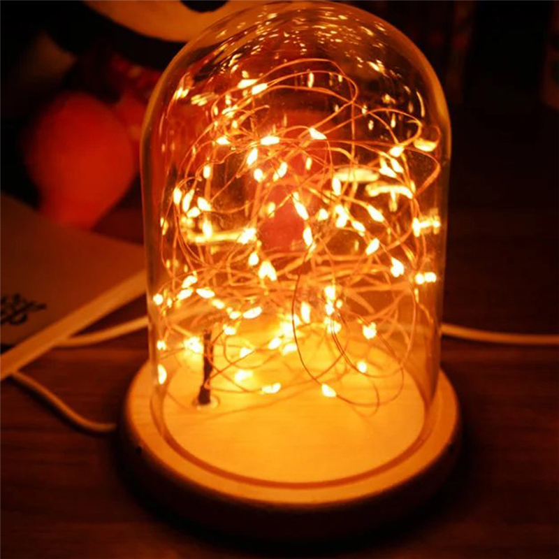 LED Fire Yellow Tree Silver Flower Romantic Glass Cover Bedroom Desk Night Light Lamp For Christmas Home Decor Lights Drop Ship icoco usb rechargeable led magnetic foldable wooden book lamp night light desk lamp for christmas gift home decor s m l size