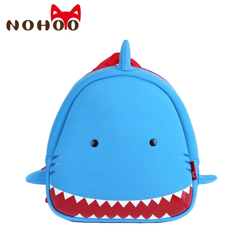 Detail Feedback Questions about NOHOO Animals Shark Kids Baby Bags 3D Shark  Waterproof Children School Bags For Girls Boys Kids Cute Real 3D Cartoon  For ...