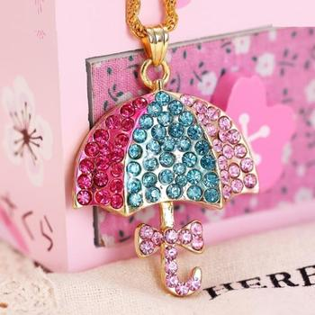 Unique Umbrella Jewelry Gift Gifts Pen Drive 32GB 16GB 8GB Memoria Usb Flash Drive 64GB Flash Memory Card Disk Drives Driver Key