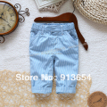 Free shipping Retail new 2014 spring autumn fashion kids trousers baby boy trousers child casual  stripes pants