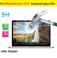 15 4 0 3mm 9H 2 5D Explosion proof Tempered Glass film for Macbook pro 15