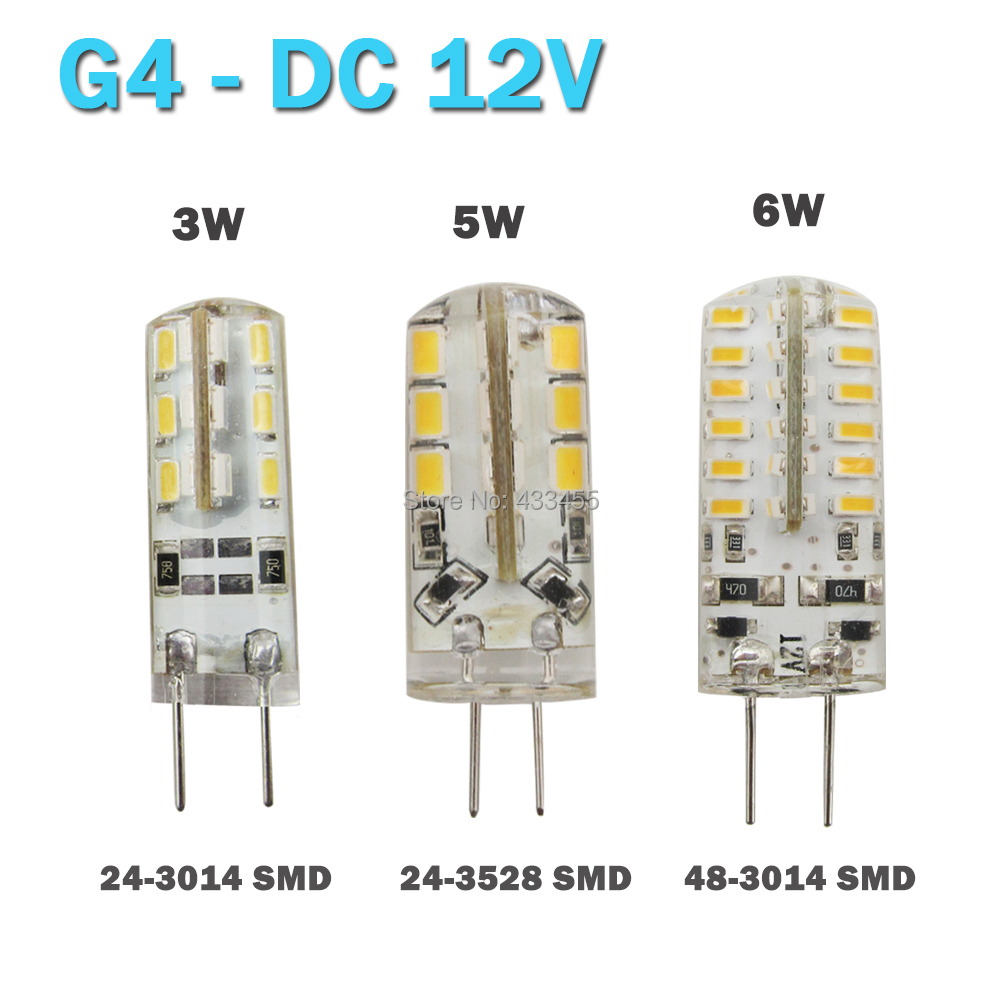 high power smd 3014 3528 3w 5w 12v g4 led lamp replace 20w. Black Bedroom Furniture Sets. Home Design Ideas