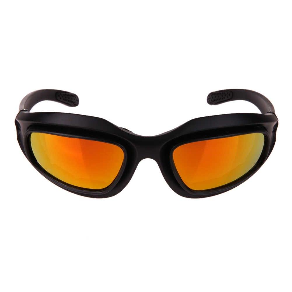 7c233f76ea Margarita C5 ejército gafas militares 4 lente gafas de sol para hombres  desierto juego de guerra