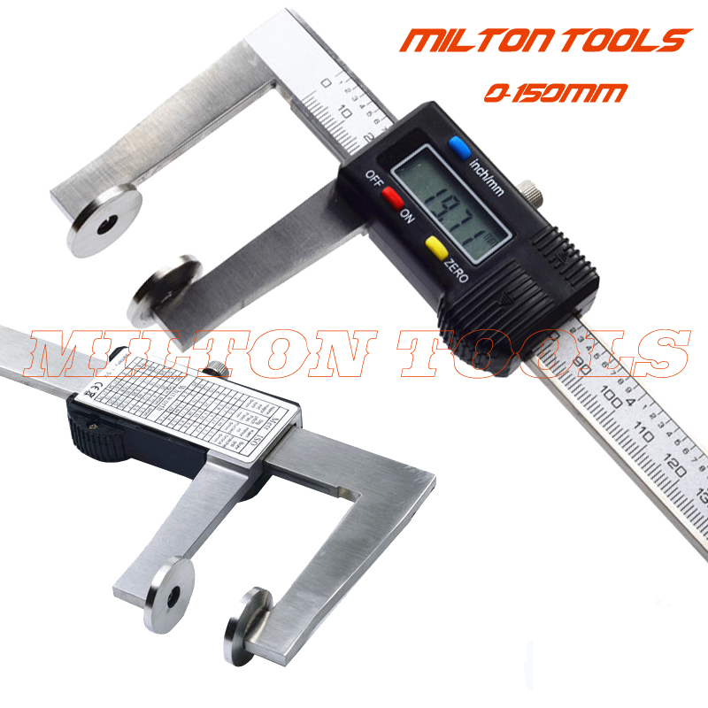 GUANGLU Digital Caliper Inside Groove vernial caliper 8 150mm 0 01mm Stainless Steel Electronic Measurement Instrument