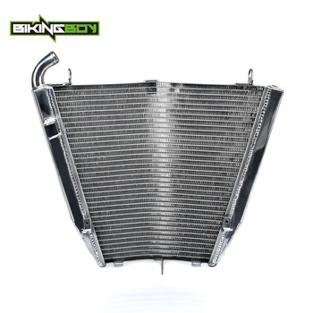 BIKINGBOY 1 Set Aluminum Cores Engine Water Cooling Radiator Radiators For HONDA CBR 1000 RR Fireblade 2006 2007 CBR1000RR 06 07