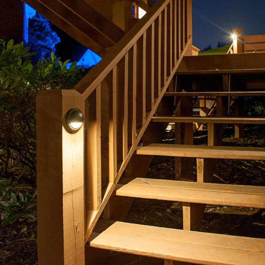 12v Led Deck Floor Step Light Outdoor