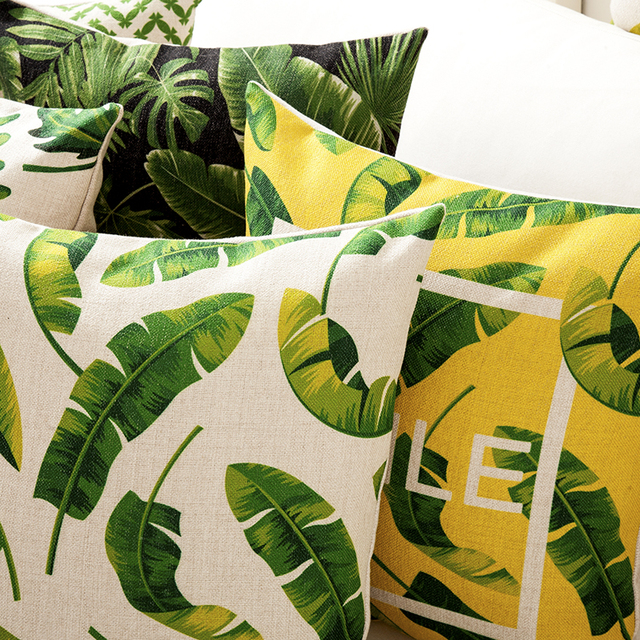 Rainforest Smile Cushion Cover 3