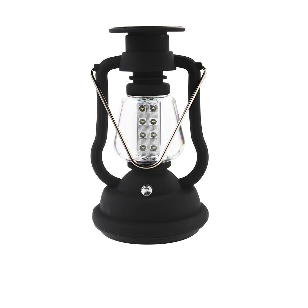 120 Lumens Portable Solar Charger Lantern Emergency 16 LED Camping Lantern Waterproof Rechargeable Hand Crank Light Lamp