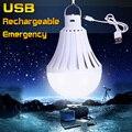Lâmpada LED E27 220 V 12 W 20 W 30 W 40 W de Alta Potência USB Recarregável de Emergência bombillas LEDs Luzes Da Noite Ao Ar Livre Da Bateria