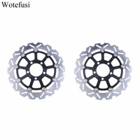 Wotefusi Motorcycle Front Brake Disc Disk Rotor For Suzuki DL650 2004 2006 2005 DL1000 2002 2010