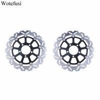 Wotefusi Motorcycle Front Brake Disc Disk Rotor For Suzuki DL650 2004 2006 2005 DL1000 2002 2010