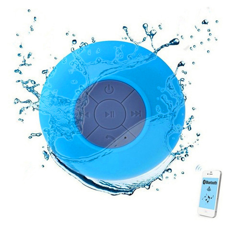 Bluetooth Speaker For Shower Portable Bluetooth Wireless Speaker Portable Wireless Bluetooth Stereo Speaker(China)