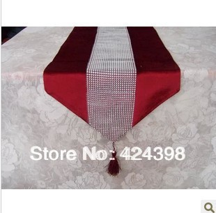 Luxury Paillette Fashion Table Runner Table Overlays For Wedding Bedded  Sequin Tablecloth Black White Gold Red Free Shipping In Tablecloths From  Home ...