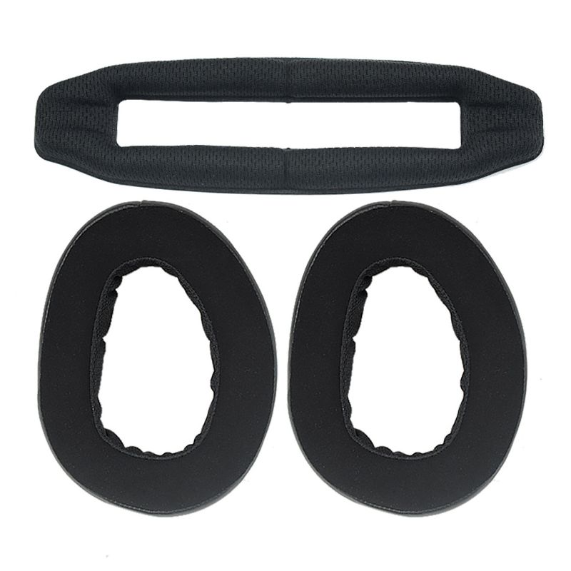 Replacement Ear Pads Cushion Earpads Earmuff Headband for Sennheiser GSP 500 600 Headphones Headset Accessories