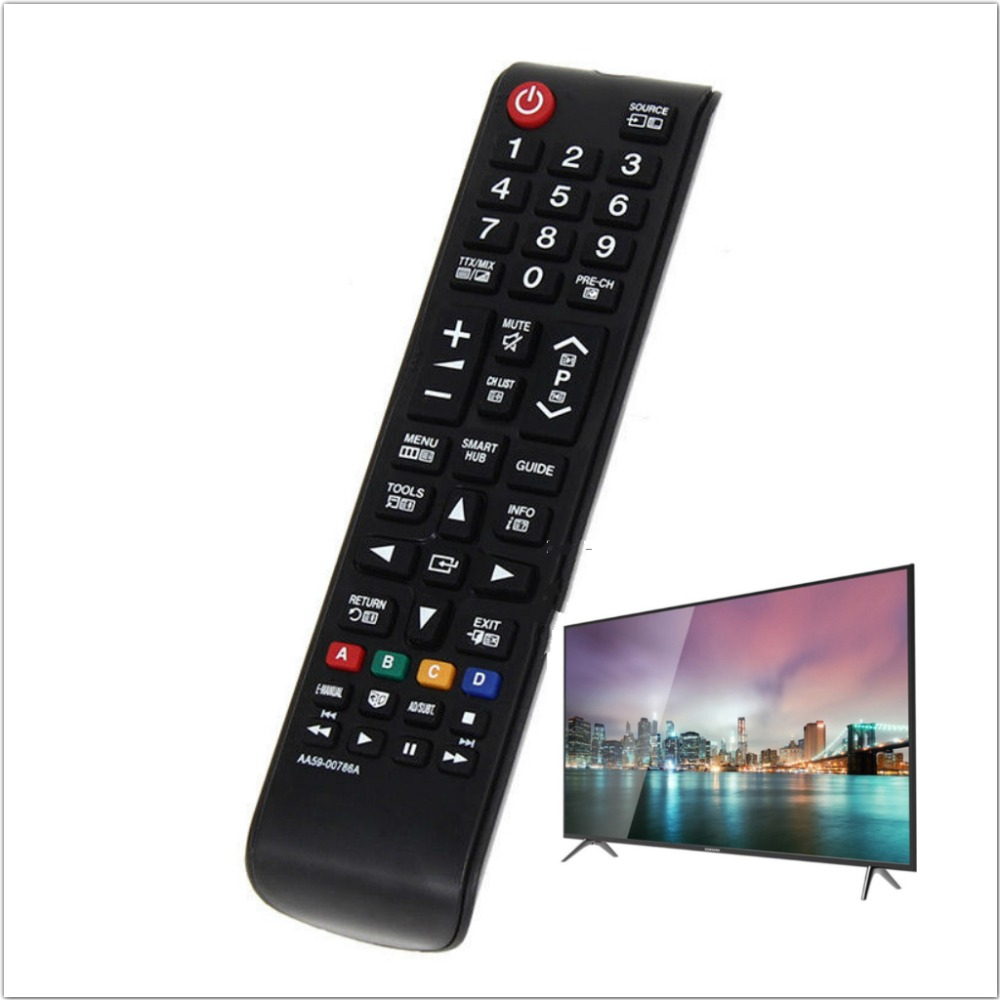 Smart Remote Control Replaceme For Samsung AA59-00786A AA5900786A LCD LED Smart TV Television universal remote control title=