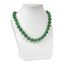 18 inches Lucky green big Malay jas-per necklace,7.5 inches E-a-s-i-l-y carry Lucky green Malay bracelet. semiprecious