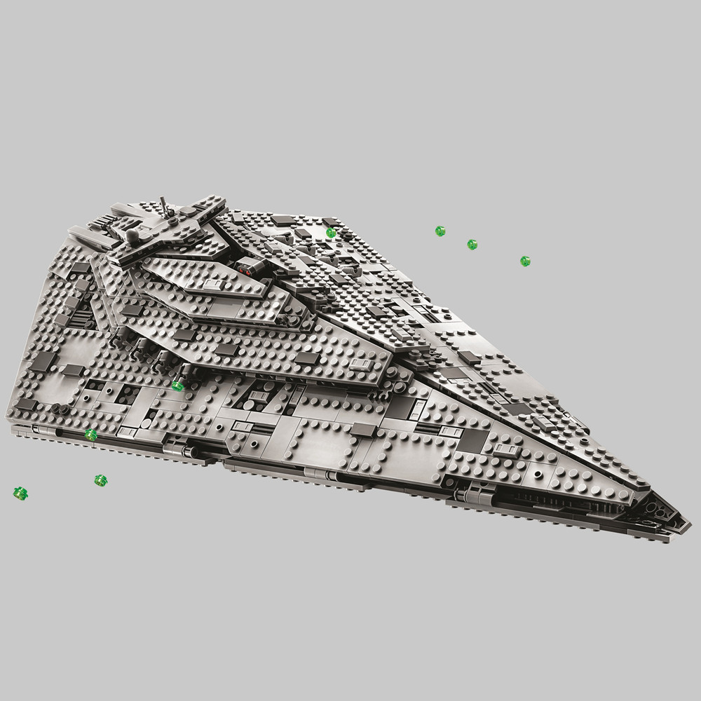 BELA Star Wars First Order Star Destroyer Building Blocks Kit Bricks Sets Classic Movie Model Kids Toys Compatible Legoe new bela 10377 star wars wookiee gunship model building blocks sets wullffwarro kanan bricks