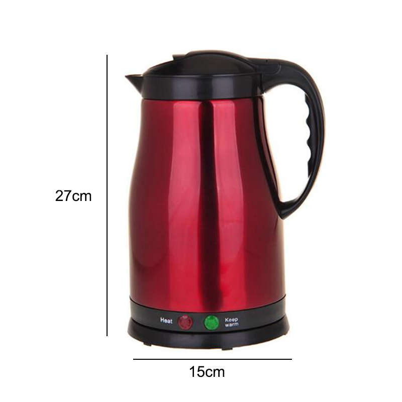 ( 220V)1.8L Thermal Insulation Teapot,Electric Kettles Stainless Steel Smart Constant Temperature Control Water home