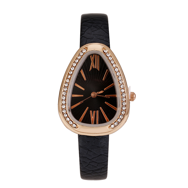 Imitation snake Women Luxury Quartz Watch BGG brand ladies Casual Wristwatch Leather Strap dress Watch female clock hour Relojes bgg brand ladies casual watch rectangle dial minimalist style female quartz wristwatch leather strap women fashion clock hours
