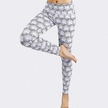 Gym clothing new high waist geometric digital printing wicking sweatpants fitness yoga leggings seamless set lulu