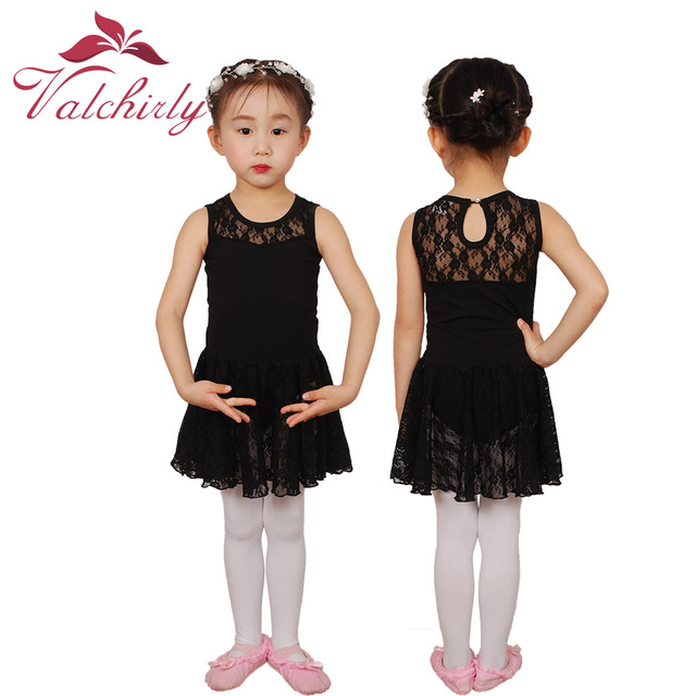 38c6b9153 Vachirly Girls Costume Cotton Dance Leotards Skirts