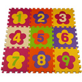 kids baby play mat puzzle mats flower  playing carpet children's developing crawling rugs babies puzzle number foam