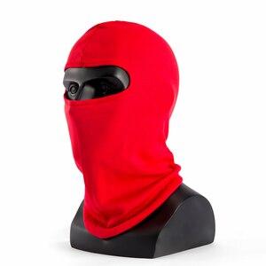 Image 5 - Sinovcle אופנוע מסכת פנים חיצוני ספורט רוח כובע משטרת רכיבה על אופניים כובעי גרב פנים מסכת החורף חם סקי סנובורד