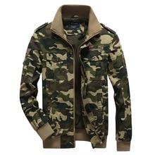 купить Camouflage Jackets Men Army Cargo Jackets Military Tactical Jacket Coat 2019 Autumn Male Casual Outwear Plus Size 5XL 6XL WN55 по цене 2148.9 рублей