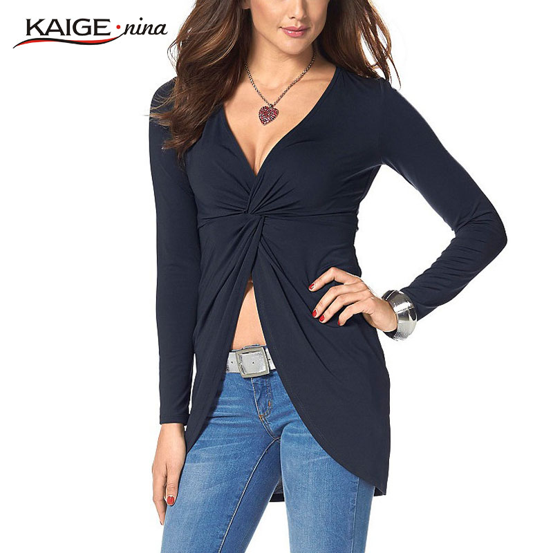 De pu Noir Mousseline Ciel shirt1057 Chaude cou Mode Kaigenina Nouvelle V blanc orange Femmes En Vente Robe Gaine Soie T Sexy PTTxq7w