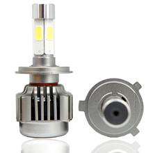 1 Set 80W 12000LM CR V8 COB LED Headlight 40W 6000LM H1 H3 H4 H7 H8 H9 H11 9005 9006 9012 9004 9007 H13 Car LED Headlight Bulb
