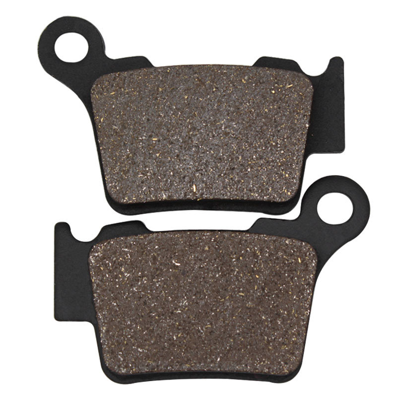 Cyleto Motorcycle Rear Brake Pads for KTM SXF450 SXF 450 2007-2013 EXC 500 Six Days 2016 SXF 505 2007-2009 SMR 525 2004-2005