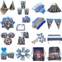 Für 10 menschen baby junge erwachsene geburtstag partei liefert die Avengers party dekoration sets papier girlande tassen baby dusche liefert