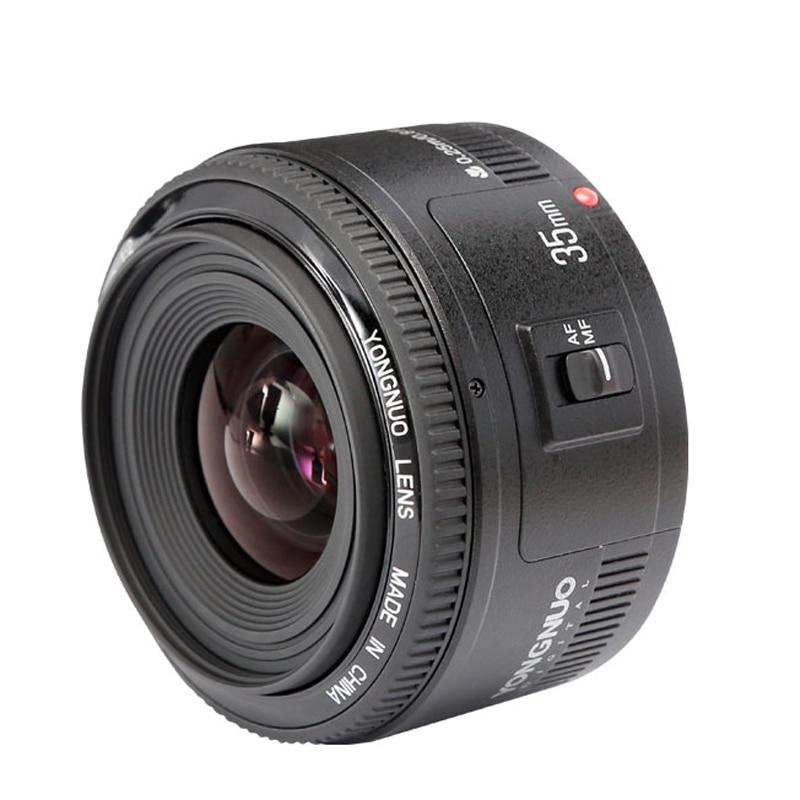 YongNuo YN35mm F2 Large Aperture AF Auto Focus Lens for Canon 600d 60d 5DII 5D 500D 400D 650D 600D 450D Nikon D3200 D3400 D3100