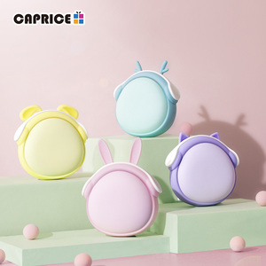 Image 4 - Cute Handwarmer Mini Hand Warmers for Girls Termofor Gumowy Portable Pocket Power Bank 6000mAh Battery Rechargeable WT W6