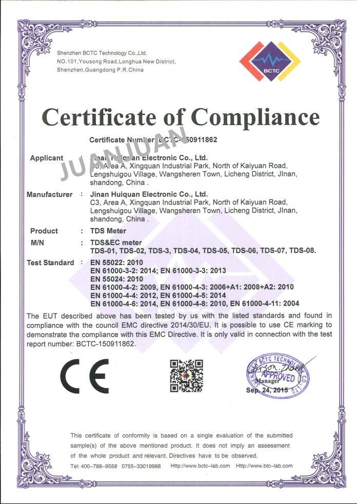 Tester per tester TDS digitale con compensazione automatica della - Strumenti di misura - Fotografia 6