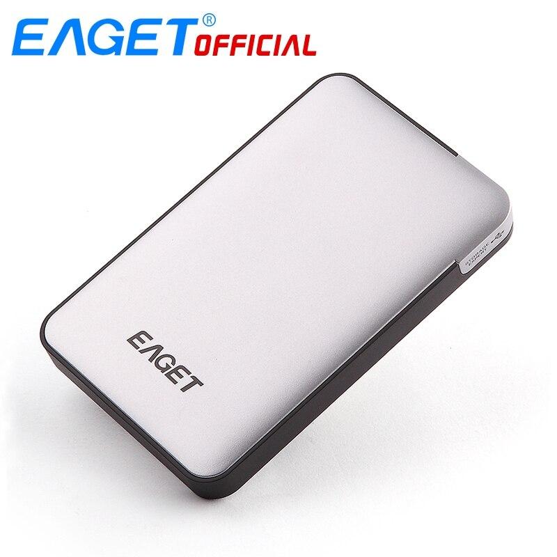 Eaget 1 ТБ 2 ТБ HDD 2.5 жестких дисков USB 3.0 High-Скорость противоударный Шифрование Внешние жёсткие диски портативных мобильный жесткий диск