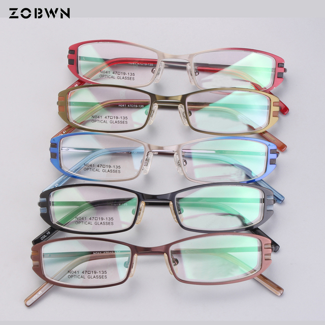 f94f809dc3d Mix wholesale Cheapest new kids colors eyeglasses women Female Glasses Frame  small size 47-19