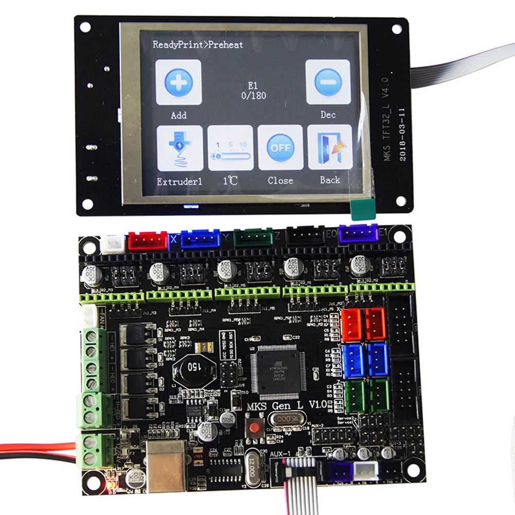 Computer & Büro Aktiv 3d Drucker Controller Kit Mks Gen_l Und Mks Tft32 3d-drucker Und 3d-scanner