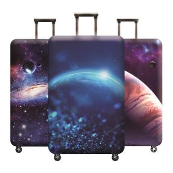 88be1e856 Protector de equipaje maleta cubierta protectora elástica cubre Trolley  polvo para 18-32 pulgadas accesorios de viaje equipaje